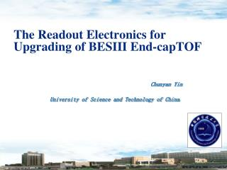 The  Readout Electronics for Upgrad ing  of BESIII E nd-cap TOF
