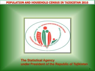 Population and household census in Tajikistan 2010