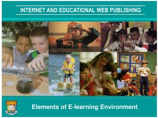 INTERNET AND EDUCATIONAL WEB PUBLISHING