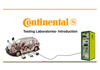 Testing Laboratories- Introduction