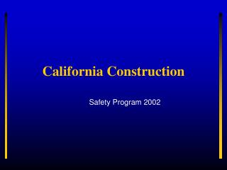 California Construction