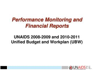 2008-2009 performance reports