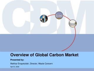 Overview of Global Carbon Market 	Presented by: 	Iftekhar Enayetullah, Director, Waste Concern