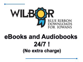 eBooks and Audiobooks  24/7 ! (No extra charge)