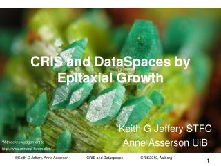 CRIS and DataSpaces by Epitaxial Growth