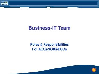 Business-IT Team