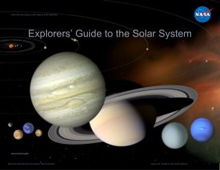 Explorers' Guide to the Solar System