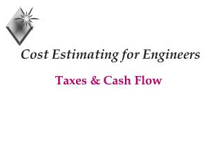 Cost Estimating for Engineers