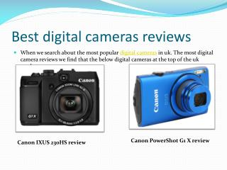 Best digital camera reviews