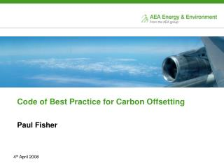 Code of Best Practice for Carbon Offsetting