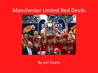 Manchester United Red Devils