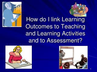 How do I link Learning Outcomes to Teaching and Learning Activities and to Assessment?