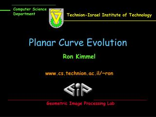 Planar Curve Evolution