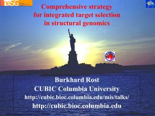 Comprehensive strategy for integrated target selection in structural genomics