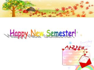 Happy New Semester!