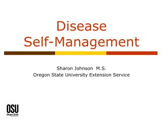 Disease  Self-Management