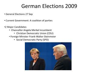 German Elections 2009