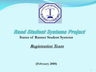 Raed Student Systems Project