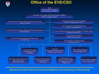 Office of the EVD/CSO