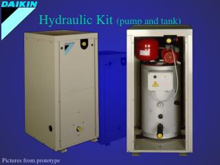 Hydraulic Kit  (pump and tank)