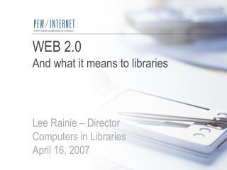 Web 2.0 – podcasting explained