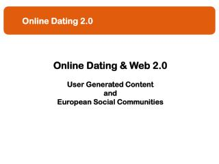Online Dating 2.0