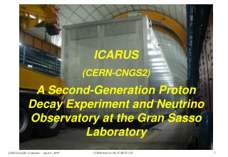 ICARUS  (CERN-CNGS2)