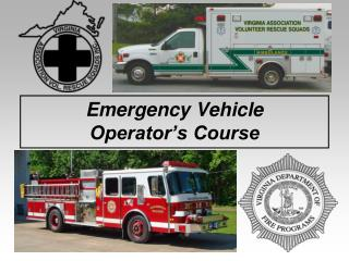 Emergency Vehicle Operator's Course