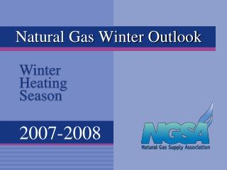Natural Gas Winter Outlook