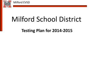 Milford School District