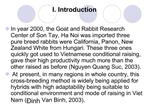 The abilities of reproduction and resistance for some common diseases  of New Zealand rabbits raised  in Thai Nguyen pro