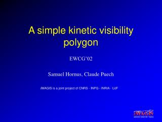 A simple kinetic visibility polygon