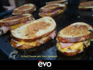Grilled Cheese with Ham Sandwich