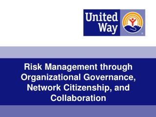 Risk Management through Organizational Governance, Network Citizenship, and Collaboration
