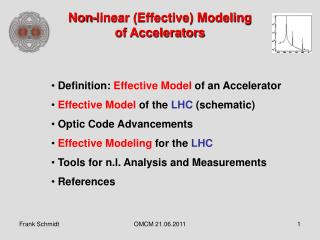 Non-linear (Effective) Modeling of Accelerators