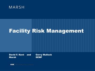 Facility Risk Management