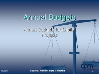 Annual Budgets