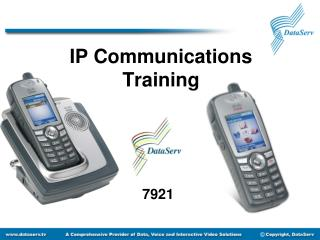 IP Communications  Training