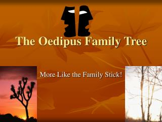 The Oedipus Family Tree