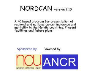 NORDCAN version 2.10