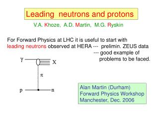 Leading  neutrons and protons