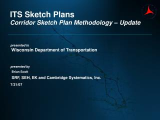 ITS Sketch Plans