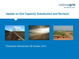 Update on Exit Capacity Substitution and Revision