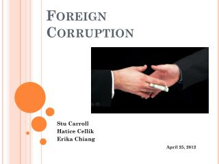 Foreign Corruption
