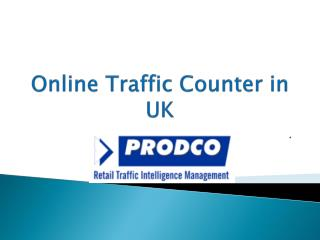 Online Traffic Counter in UK - www.prodcotech.com