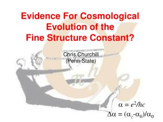 Evidence For Cosmological Evolution of the  Fine Structure Constant?