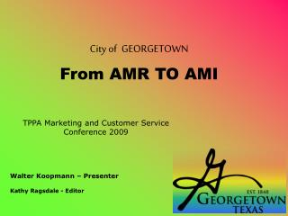 TPPA Marketing and Customer Service Conference 2009