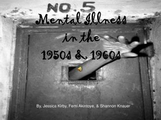 Mental Illness  in the  1950s & 1960s