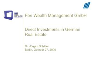 Feri Wealth Management GmbH