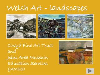 Welsh Art - landscapes